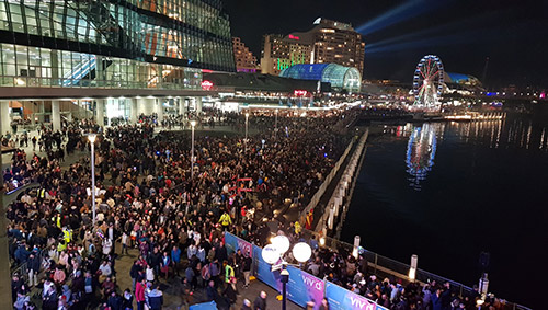 VIVID Sydney - Large public gathering - MIP Security